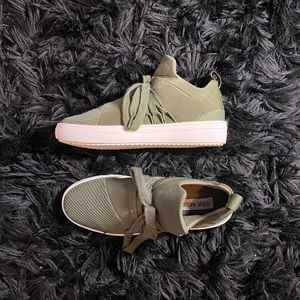 """Army Green """"Lancer"""" Sneakers 